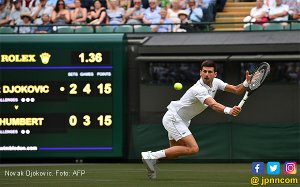 8 Pria yang Masih Perkasa di Wimbledon 2019 - JPNN.com