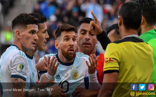 Lionel Messi Terancam Dihukum 2 Tahun Larangan Tampil, Termasuk di Kualifikasi PD 2022 - JPNN.com