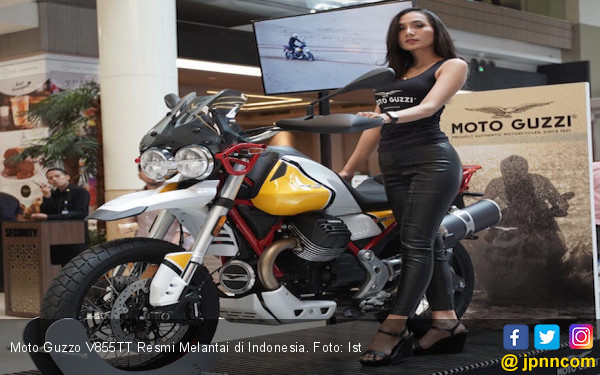 Moto Guzzi V85TT Resmi Melantai di Indonesia, Sebegini Harganya - JPNN.com