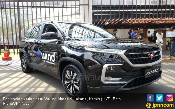 Varian Baru Wuling Almaz Punya Fitur Paling Kece di Indonesia - JPNN.com