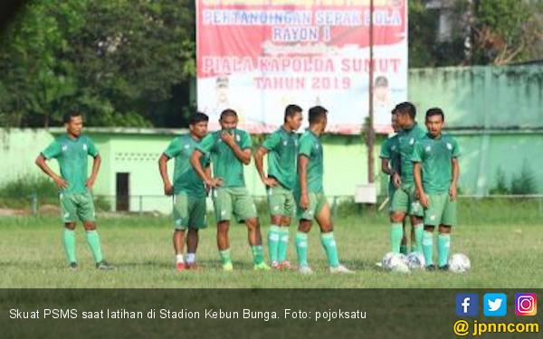 PSMS Medan Hanya Boyong 18 Pemain Hadapi PSCS Cilacap - JPNN.com