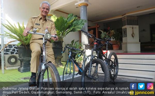 Oh, Pak Ganjar Pranowo Pernah Pingsan karena Ngebut saat Bersepeda - JPNN.com