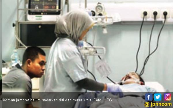 Sungguh Biadab ! Jambret Buat Ibu Dua Anak Kritis tak Sadarkan Diri - JPNN.com