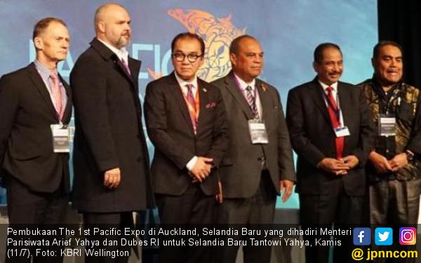 Duo Yahya Gemakan Spirit Pasifik di The 1st Pacific Expo - JPNN.com