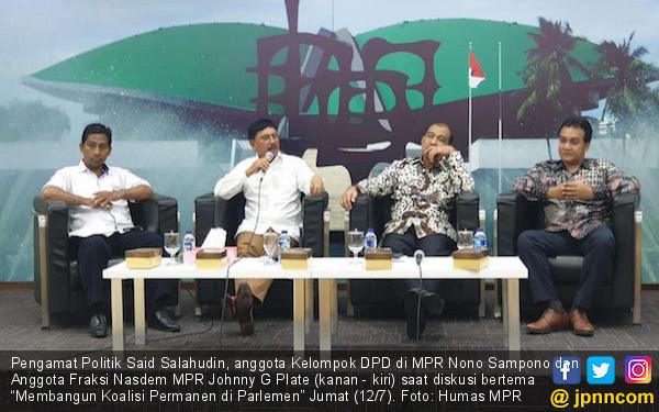 Koalisi MPR Jangan Sampai Keluar dari Gagasan Kebangsaan - JPNN.com