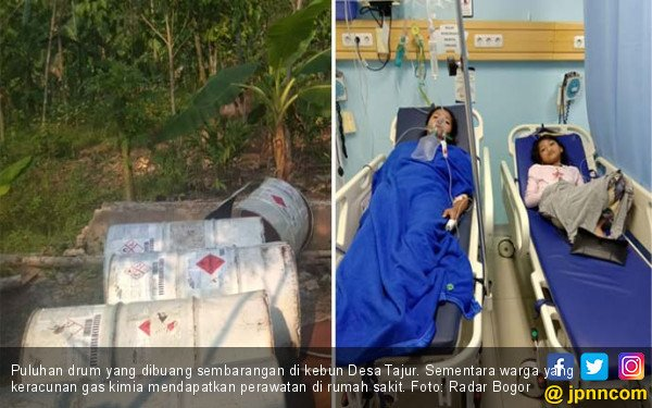 Warga Tajur Bogor Keracunan Gas Kimia - JPNN.com