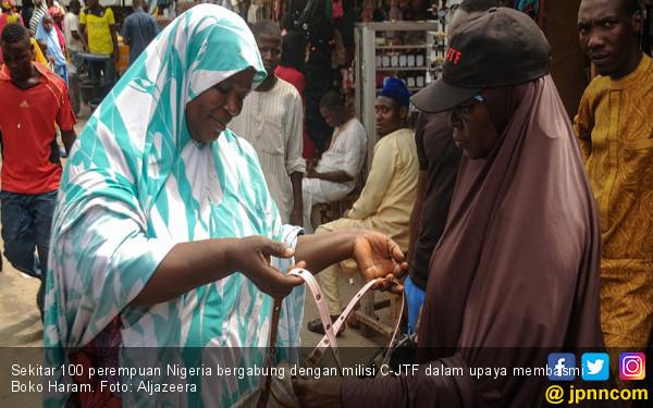 Ratusan Perempuan Nigeria Gabung Milisi Pembasmi Boko Haram - JPNN.com