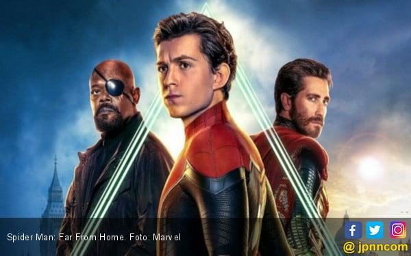 Spider Man: Far From Home Raup USD 1 Miliar - JPNN.com