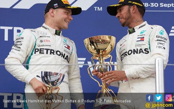 F1 Rusia 2019: Ferrari Gagal Menggulung Mercedes, Ini Sebabnya - JPNN.com
