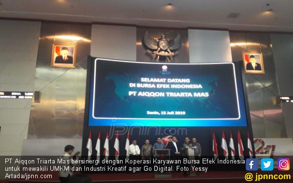 Dukung Gerakan NonTunai & UMKM Go Digital, Aplikasi Aiqqon Diluncurkan - JPNN.com