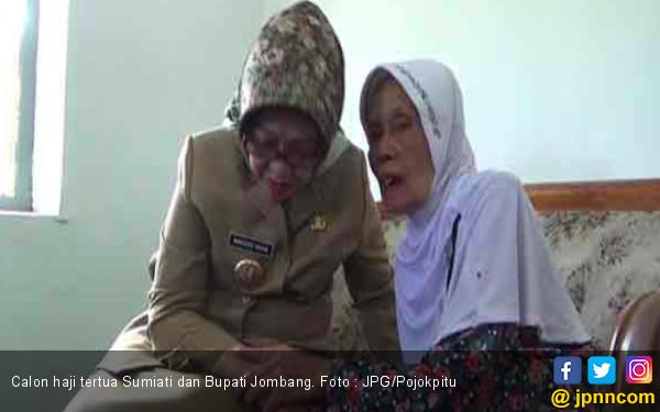 Nenek 107 Tahun Akan Berangkat Haji, Ini Pesan Khusus Bupati - JPNN.com