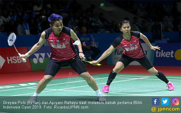 Lewati Babak Pertama Indonesia Open 2019, Greysia / Apriyani Bilang Begini - JPNN.com