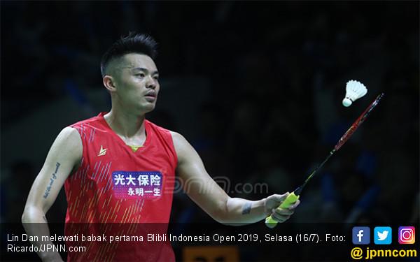 Tembus 16 Besar Indonesia Open 2019, Lin Dan Ketemu Chou Tien Chen - JPNN.com