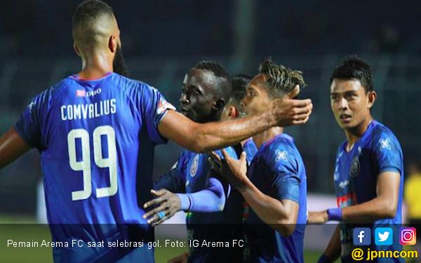 Lawan Tim Bertabur Bintang, Gelandang Arema FC: Kami tidak Takut - JPNN.com