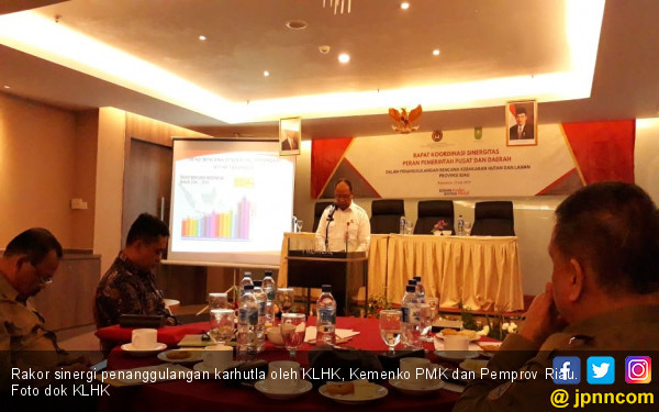 Sinergi Pemerintah Pusat dan Daerah Untuk Tanggulangi Karhutla - JPNN.com