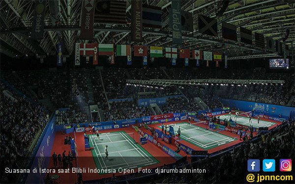 Luar Biasa! Baru Hari Pertama, Indonesia Open 2019 Sudah Begini - JPNN.com