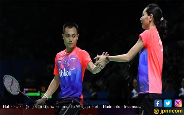 Pukul Junior, Hafiz / Gloria Masuk 16 Besar Blibli Indonesia Open 2019 - JPNN.com