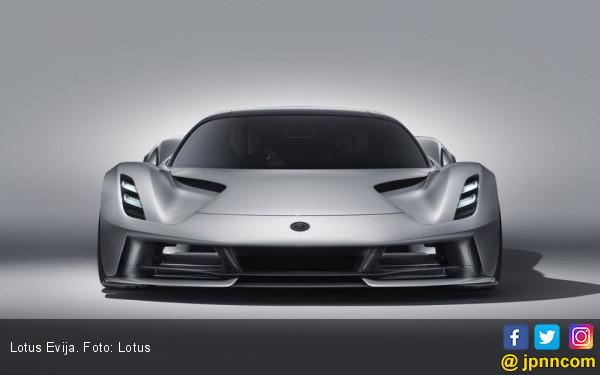 Lotus Evija Usik Titel Mobil Tercepat Koenigsegg dan Hennessey, Harga Rp 29 Miliar - JPNN.com