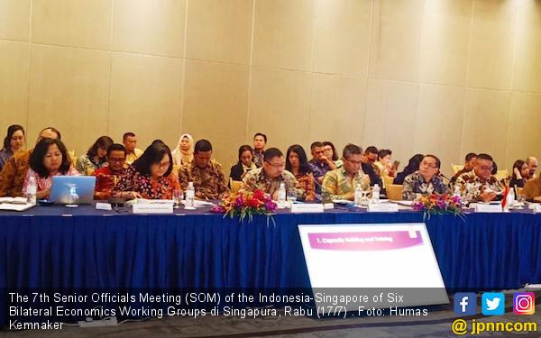 Indonesia - Singapura Bangun Inisiatif dan Kolaborasi Baru Bidang Ketenagakerjaan - JPNN.com