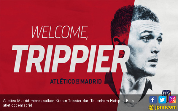 Atletico Madrid Beli Kieran Trippier Cuma Rp 347 Miliar - JPNN.com