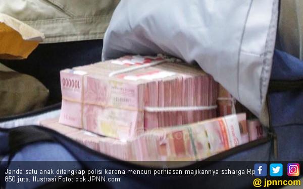 Janda Satu Anak, Sekali Berbuat Dosa Raup Rp 850 Juta - JPNN.com