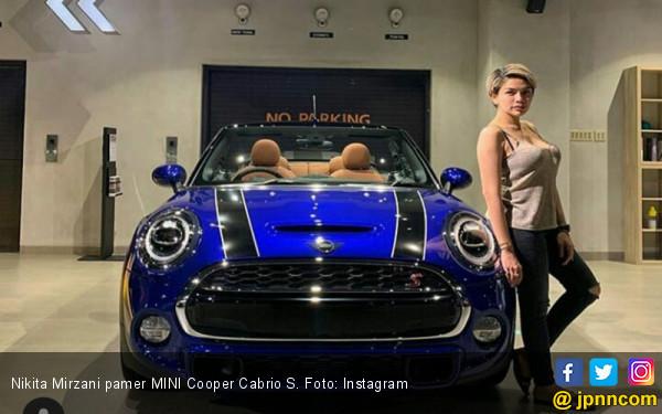 Nikita Mirzani Pamer MINI Cooper Cabrio S Buat Bayinya, Untuk Apa? - JPNN.com