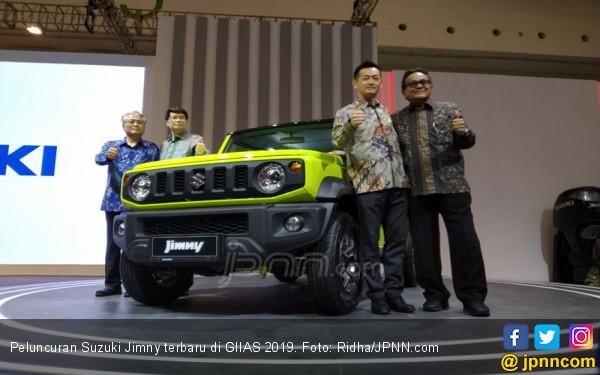 Suzuki Jimny Terbaru Resmi Mengaspal di GIIAS 2019, Harganya Mengejutkan - JPNN.com