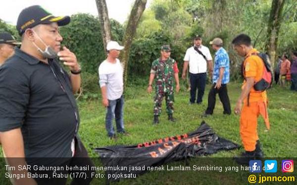 Mayat Nenek Lamlam Ditemukan 8 Km dari Lokasi Kejadian - JPNN.com