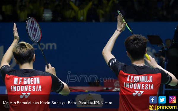 Tembus Semifinal Blibli Indonesia Open 2019, Minions Ketemu Tiang Listrik - JPNN.com
