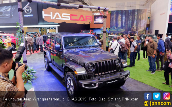Jeep Compass dan Wrangler Goyang GIIAS 2019 - JPNN.com