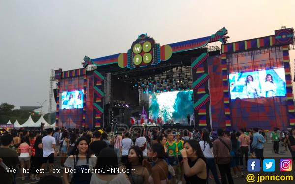 Ini Daftar Keseruan Hari Pertama We The Fest 2019 - JPNN.com