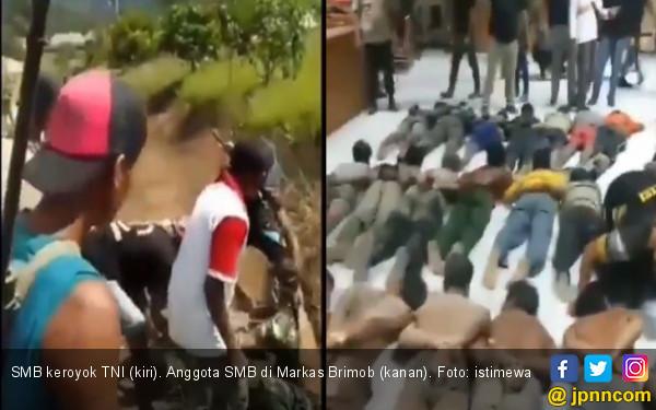 Puluhan Warga Keroyok Anggota TNI saat Bertugas - JPNN.com