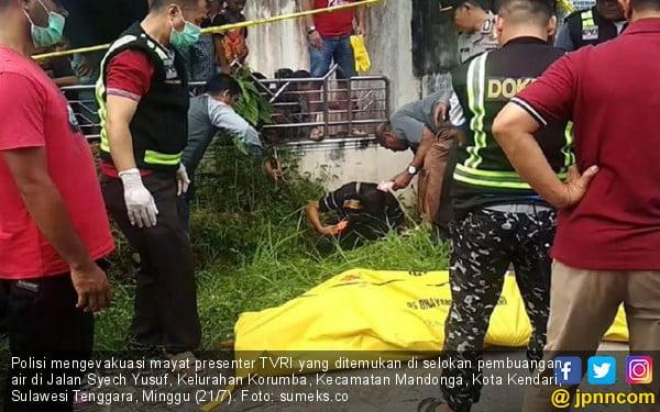 Pembantai Presenter TVRI Berhasil Ditangkap, Pelakunya Ternyata... - JPNN.com