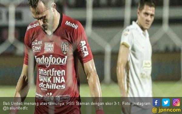 Bantai PSS Sleman, Bali United Tempel PS Tira Persikabo - JPNN.com