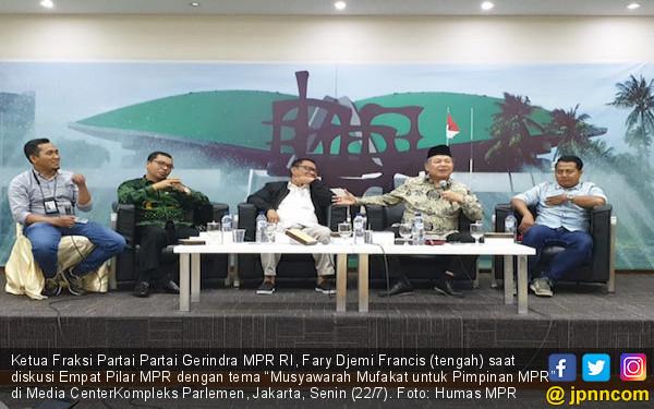 Fary Francis: Perlu Pemimpin MPR yang Menyatukan Bangsa - JPNN.com