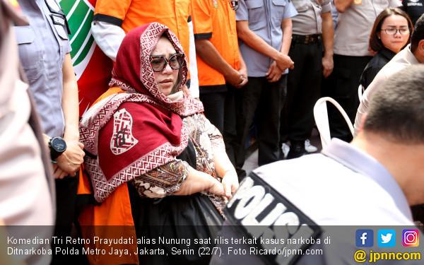 Nunung Dikabarkan Sudah Pakai Narkoba 20 Tahun, Tessy: Kelewatan Banget ya - JPNN.com