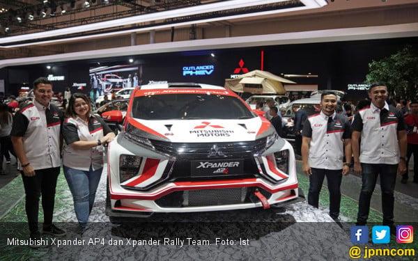 Xpander AP4 Buatan Indonesia Batal Jadi MPV Pertama Terjun di Reli Dunia - JPNN.com
