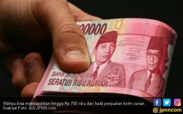 Penghasilan Bersih Wahyu per Hari Rp 700 Ribu, Tetapi Jangan Ditiru! - JPNN.com