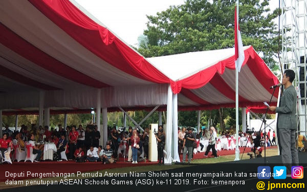Indonesia Juara Umum ASEAN Schools Games 2019 - JPNN.com
