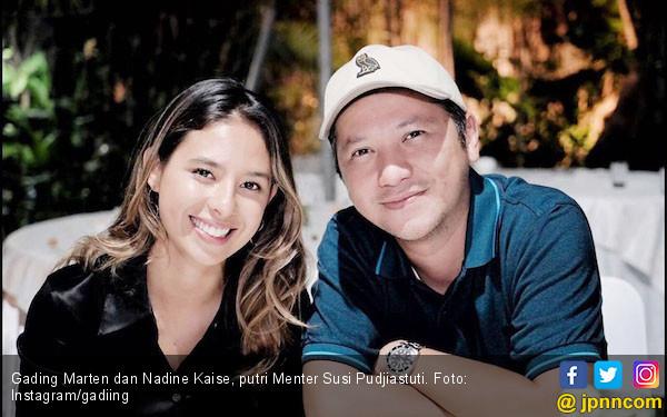 Gosip Gading Marten Pacari Nadine Kaiser, Menteri Susi Bilang Begini - JPNN.com