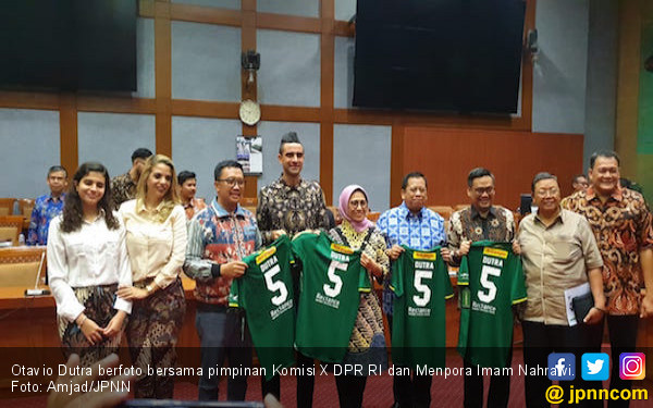 DPR Setujui Permohonan Otavio Dutra Menjadi WNI - JPNN.com