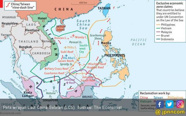 Indonesia: Sebagian Besar Negara ASEAN Tolak Klaim Tiongkok - JPNN.com