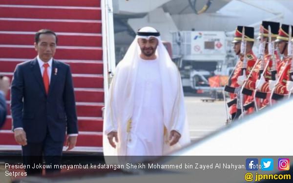 Dijemput Jokowi, Putra Mahkota Abu Dhabi Bawa Investasi Gede Banget - JPNN.com