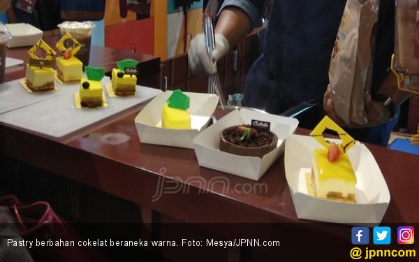 Wouw, Cantiknya Cokelat Warna-warni Kreasi Chef Milenial - JPNN.com