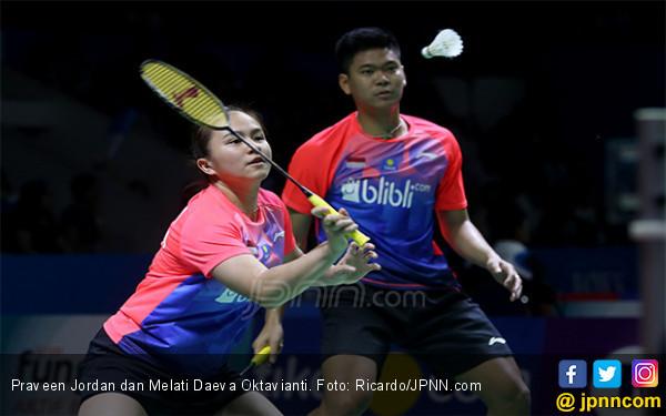 Pukul Teman Sendiri, Praveen / Melati Tantang Ganda Nomor 2 Dunia di Final Japan Open 2019 - JPNN.com