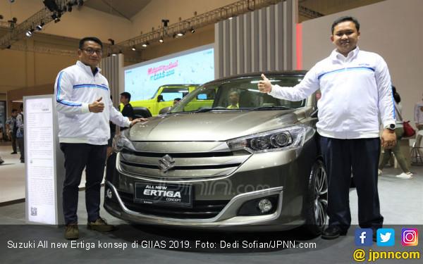 Inspirasi Menawan dari Suzuki Ertiga, Jimny Hingga Carry di GIIAS 2019 - JPNN.com