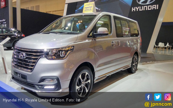 Nikmati Kemewahan Hyundai H-1 Royale Limited Edition di GIIAS 2019 - JPNN.com