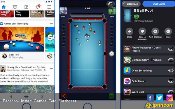 Facebook Instant Games Akan Alami Perombakan - JPNN.com