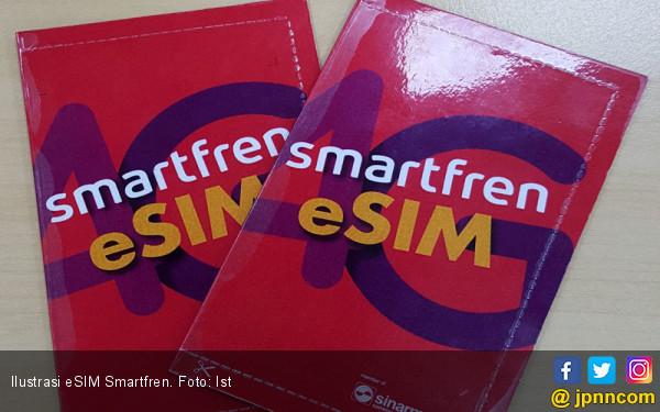 Memulai Babak Baru, Smartfren Buang Kartu SIM Fisik dengan eSIM - JPNN.com