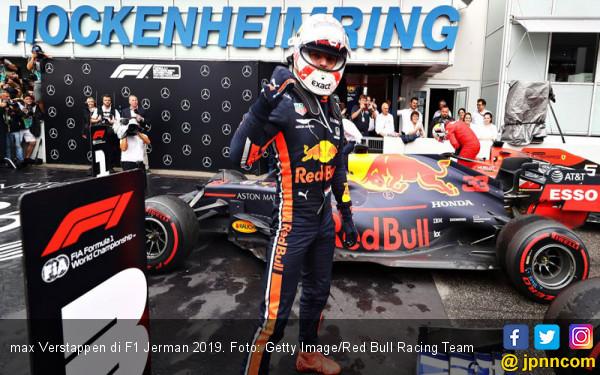 Hasil F1 Jerman: Verstappen Kuasai Podium Memanfaatkan Kesialan Duo Mercedes - JPNN.com